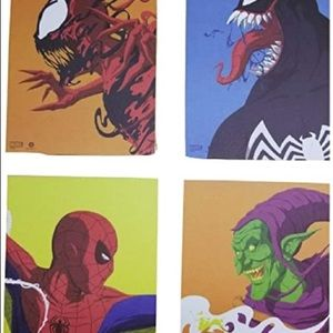 Set of 4 Spiderman Posters
